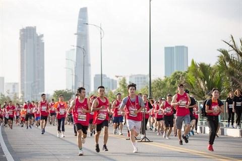 En route pour le marathon international Techcombank de Ho Chi Minh-Ville 2019 hinh anh 1