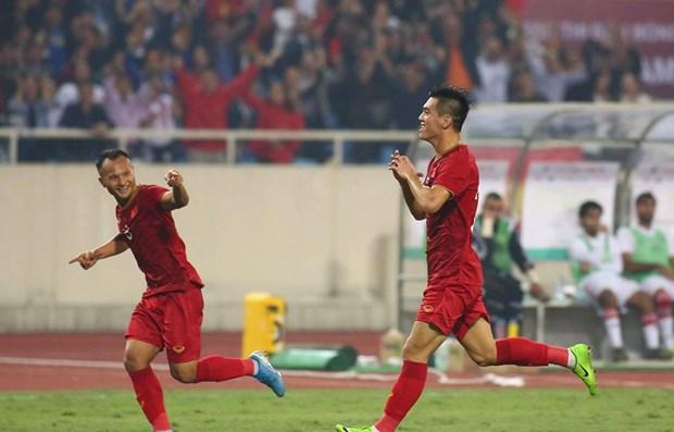 Qualification a la Coupe du monde 2022: le Vietnam en tete du groupe G hinh anh 1