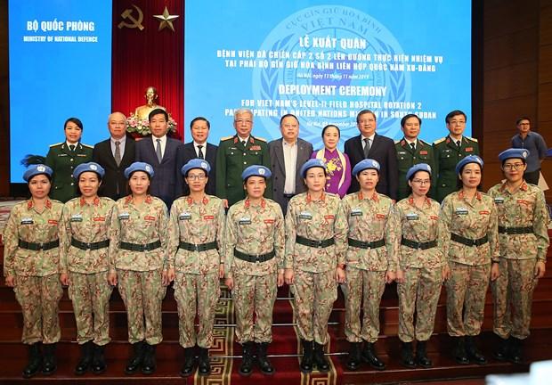 L'Hopital de campagne de niveau 2 N°2 veut devenir une unite modele de l'ONU hinh anh 1