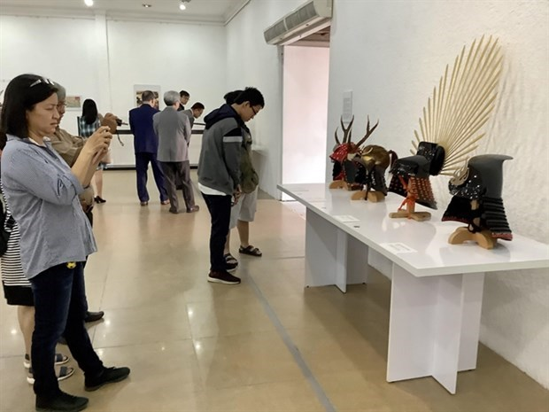 Ouverture d'une exposition sur les arts martiaux japonais a HCM-V hinh anh 1