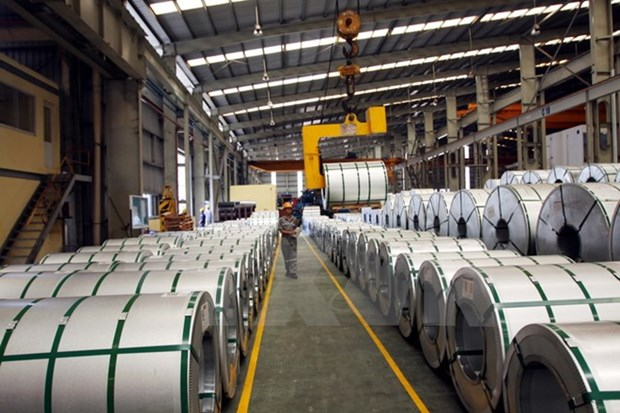 Pres de 2,5 milliards d'USD d'exportations de produits siderurgiques hinh anh 1