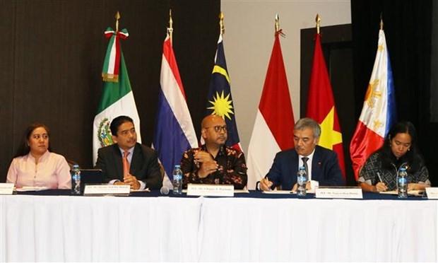 Des pays de l'ASEAN renforcent leurs echanges avec l'Etat mexicain d'Yucatan hinh anh 1