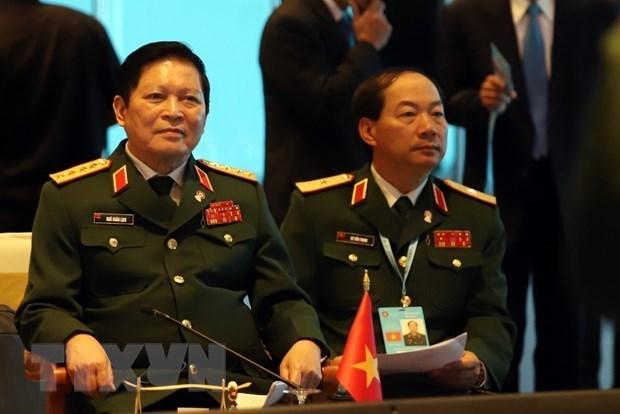 Ouverture de la conference restreinte des ministres de la Defense de l'ASEAN en Thailande hinh anh 1