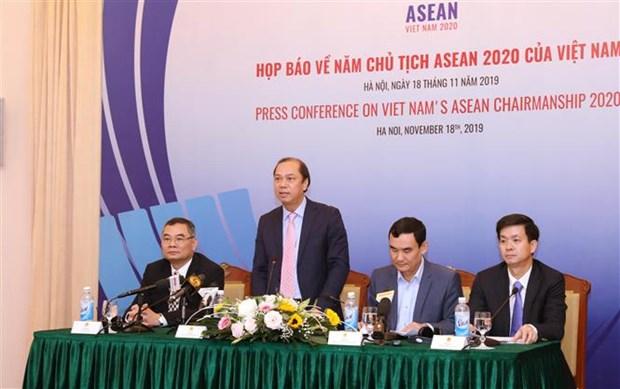 Le Vietnam definit ses priorites durant sa presidence de l'ASEAN hinh anh 1