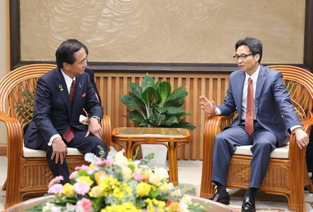 Le vice-PM Vu Duc Dam exhorte Kanagawa a investir au Vietnam hinh anh 1