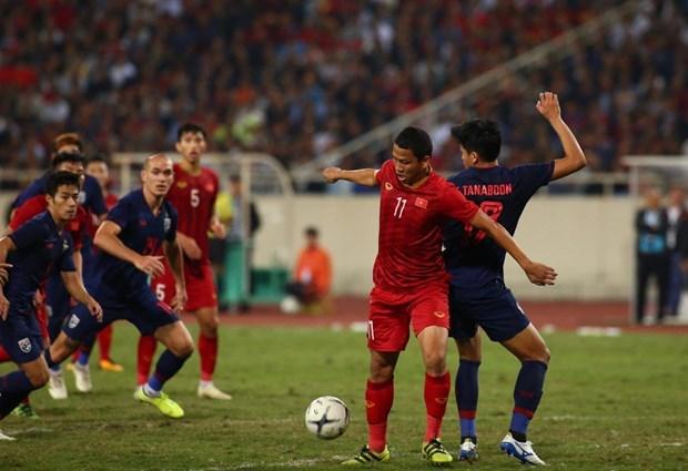 Qualification a la Coupe du monde 2022 : le Vietnam fait un match nul contre la Thailande hinh anh 1