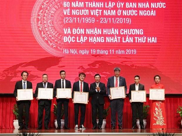 Le Comite d'Etat charge des Vietnamiens residant a l'etranger fete ses 60 ans hinh anh 2