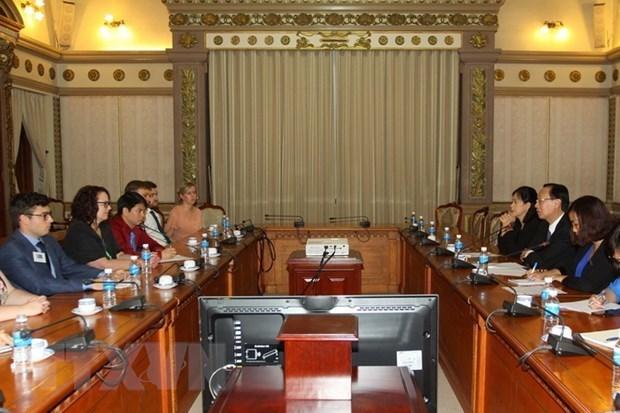 Ho Chi Minh-Ville souhaite intensifier sa cooperation avec l'Australie hinh anh 1