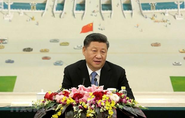 Le president chinois affirme le developpement des relations avec le Vietnam hinh anh 1