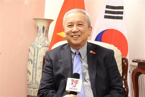 Les relations entre le Vietnam et la Republique de Coree au beau fixe hinh anh 1