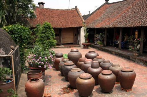 L'ancien village de Duong Lam fait monter la sauce sauja hinh anh 2