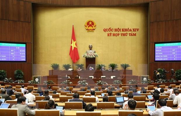 L'Assemblee nationale poursuit ses discussions sur des projets juridiques hinh anh 1