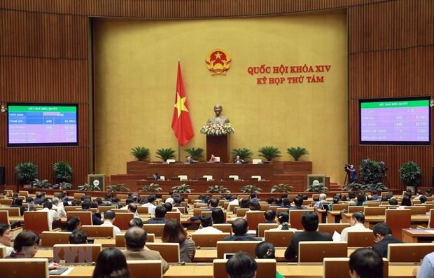 L'Assemblee nationale approuve trois lois et trois resolutions le 26 novembre hinh anh 1