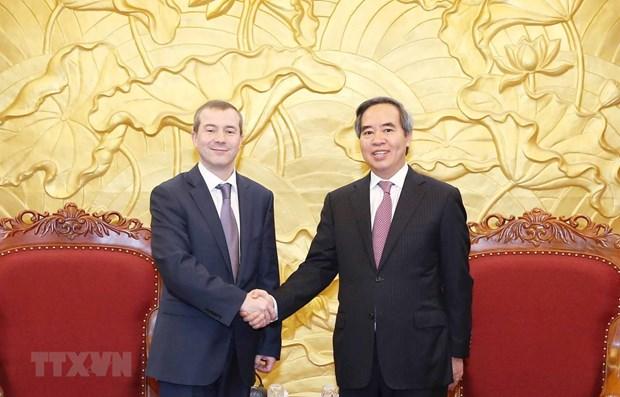 Un responsable du PCV salue le soutien de l'IBEC au Vietnam hinh anh 1