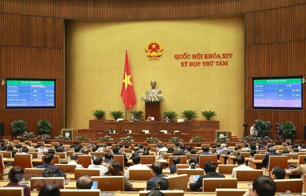 La derniere journee de travail de la 8e session de l'AN de la 14e legislature hinh anh 1