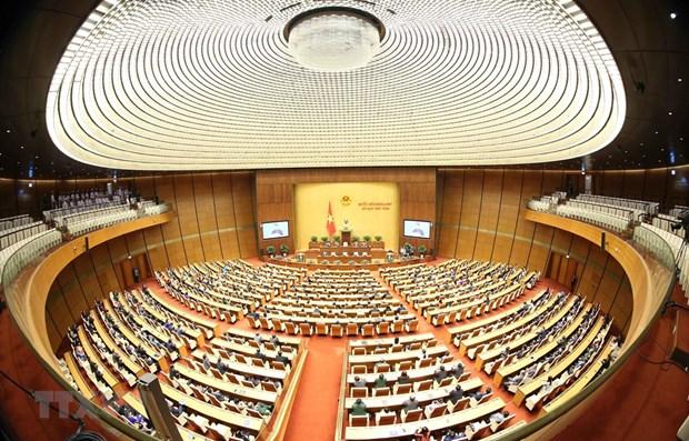 Cloture de la 8e session de l'Assemblee nationale de la 14e legislature hinh anh 1