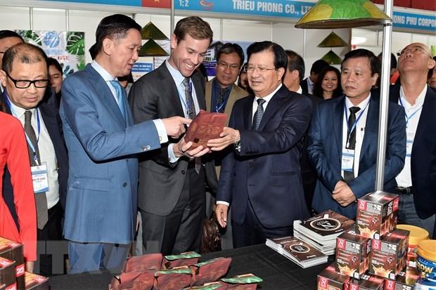 Poursuite des activites du vice-PM Trinh Dinh Dung en Australie hinh anh 2