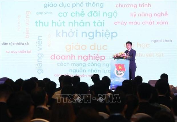 Le 2e Forum mondial des jeunes intellectuels a Hanoi hinh anh 1