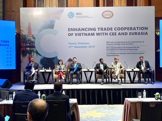 Le Vietnam veut renforcer ses liens avec la CEE et l'Eurasie hinh anh 1