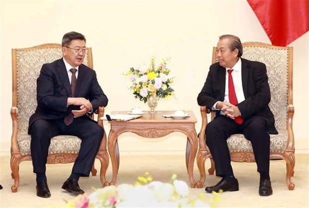 La Mongolie est un partenaire important du Vietnam hinh anh 1
