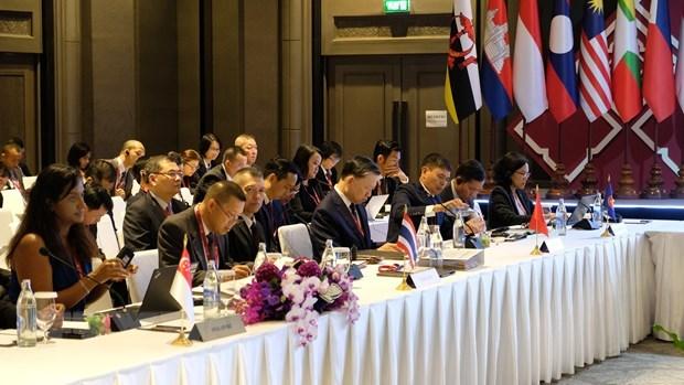 Le Vietnam participe a la reunion de l'ASEAN sur la criminalite transnationale hinh anh 1