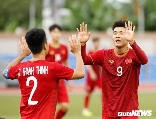 SEA Games 30: Les jeunes footballeurs vietnamiens impressionnent hinh anh 1
