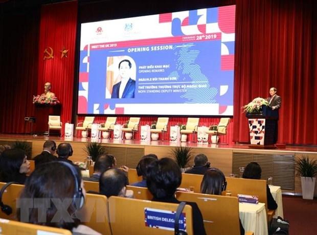 Pour promouvoir le partenariat strategique Vietnam-Royaume-Uni hinh anh 1