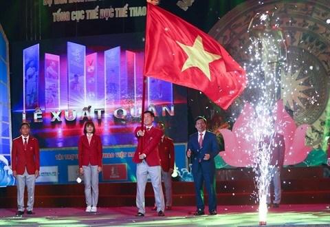 Les espoirs vietnamiens aux 30es Jeux sportifs d'Asie du Sud-Est hinh anh 1