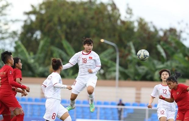 SEA Games 30 - Foot feminin: Le Vietnam en passe six a l'Indonesie hinh anh 1