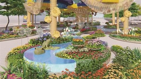 La rue florale Nguyen Hue 2020 : entre tradition et modernite hinh anh 1