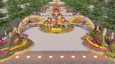 La rue florale Nguyen Hue 2020 : entre tradition et modernite hinh anh 2