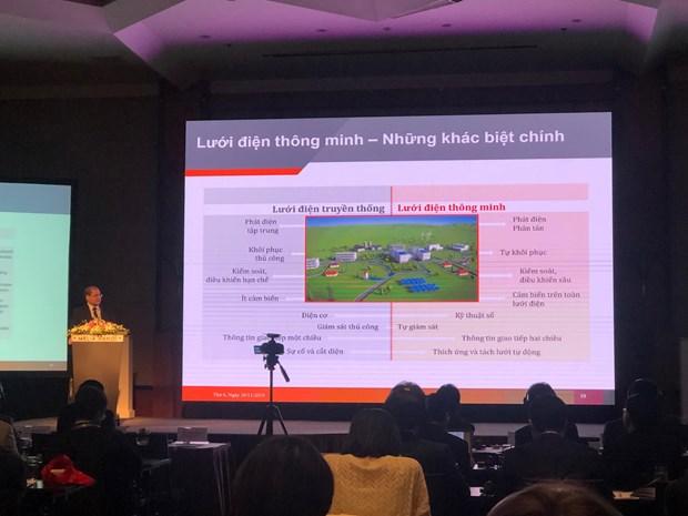 La Semaine des reseaux electriques intelligents 2019 s'ouvre a Hanoi hinh anh 1