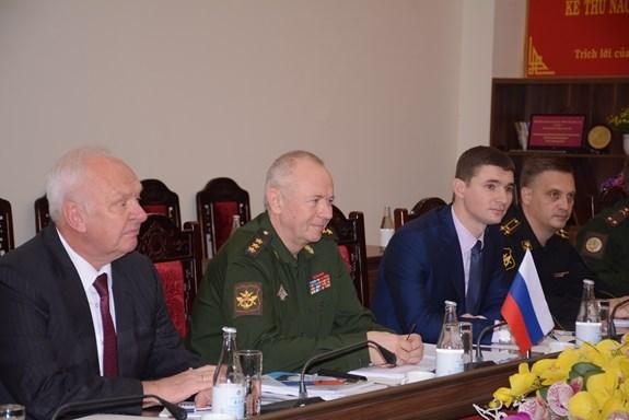 Le Vietnam et la Russie tiennent leur 5e dialogue sur la strategie de defense hinh anh 3