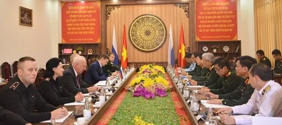 Le Vietnam et la Russie tiennent leur 5e dialogue sur la strategie de defense hinh anh 1
