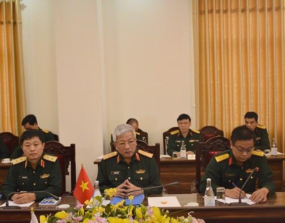 Le Vietnam et la Russie tiennent leur 5e dialogue sur la strategie de defense hinh anh 2
