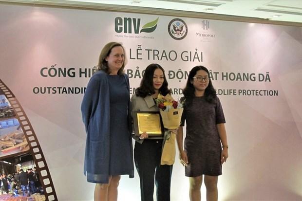 Remise des 3e Prix de la protection de la vie sauvage hinh anh 1