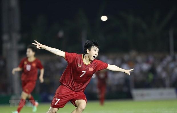 SEA Games 30 : Le Vietnam mate les Philippines et file en finale hinh anh 1