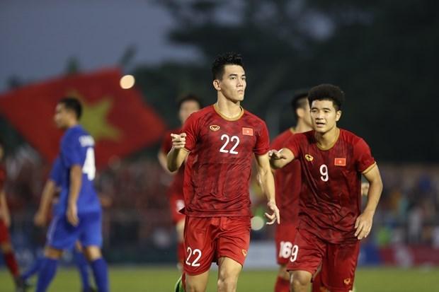 SEA Games 30 : Le Vietnam se debarrasse de la Thailande et va en demies hinh anh 1