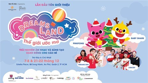 Pinkfong et Baby Shark au Vietnam pour feter Noel hinh anh 1