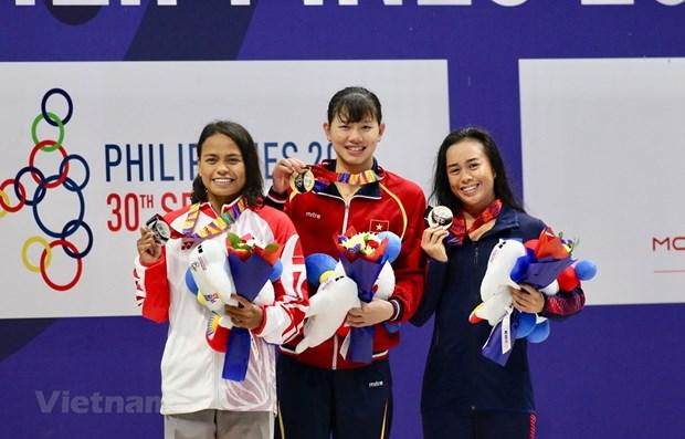 SEA Games 30 : le Vietnam se classe troisieme apres six jours de competition hinh anh 1