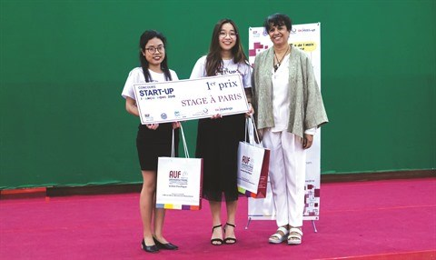 "Le Vietnam, grand gagnant du concours ""Start-up francophone 2019"" hinh anh 1"