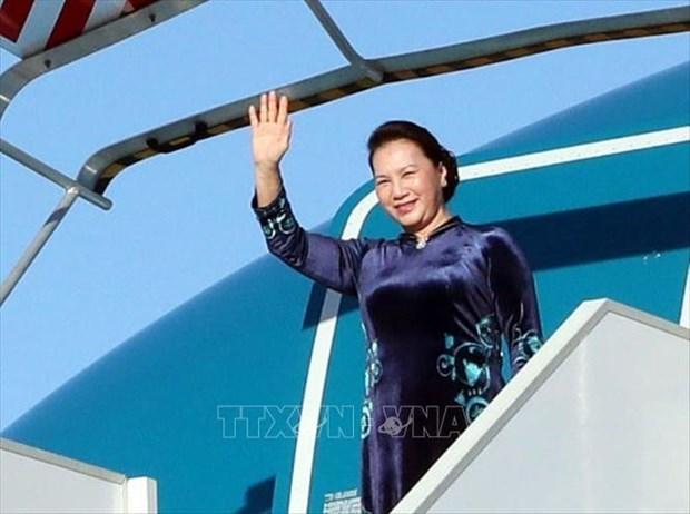 La visite qui marque un jalon dans la cooperation parlementaire Vietnam-Russie hinh anh 1