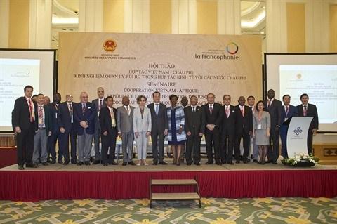 L'OIF voudrait intensifier les cooperations entre le Vietnam et l'Afrique hinh anh 1