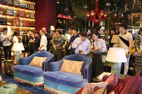L'italien Etro Home ouvre son premier showroom au Vietnam hinh anh 2