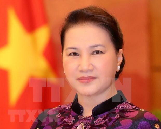 La presidente de l'AN Nguyen Thi Kim Ngan part pour la Russie et la Bielorussie hinh anh 1