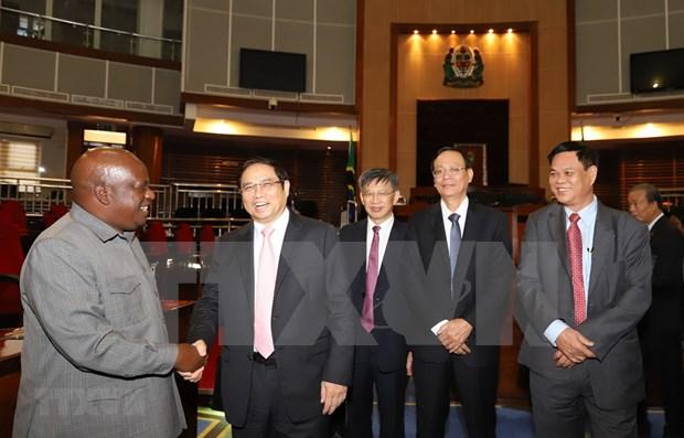 Le Vietnam et la Tanzanie souhaitent la promotion de la cooperation dans divers domaines hinh anh 1