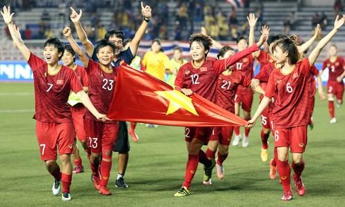 SEA Games 30 - Football feminin: Le Vietnam sur le toit de l'Asie du Sud-Est hinh anh 1