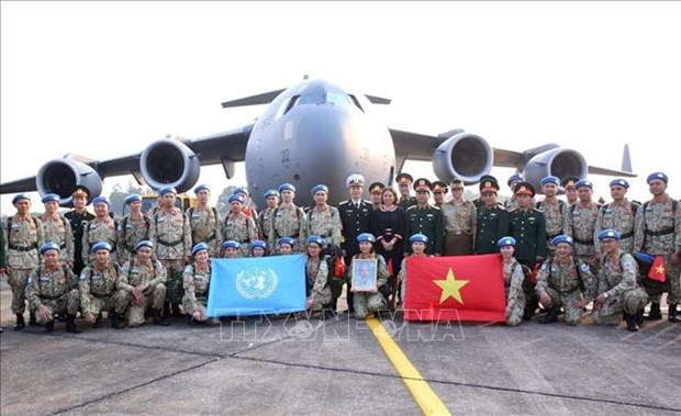 Le Vietnam appose son empreinte de paix pour les droits de l'homme hinh anh 1