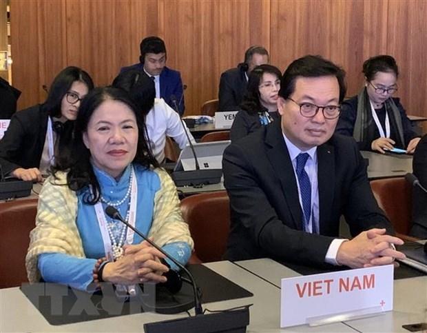 Le Vietnam a la 33e conference de la Croix-Rouge et du Croissant-Rouge en Suisse hinh anh 1