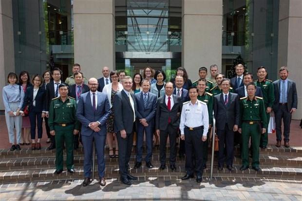Dialogue strategique diplomatique et de defense Vietnam-Australie hinh anh 1